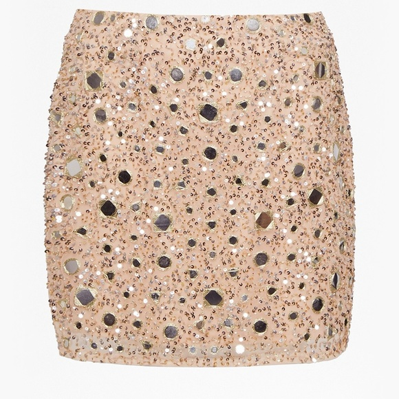 758cbd127425 French Connection Skirts | Eloise Mirrors Mini Skirt Sz 6 | Poshmark